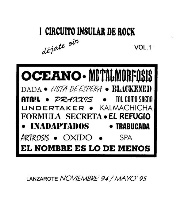 I Circuito Insular de Rock 94-95
