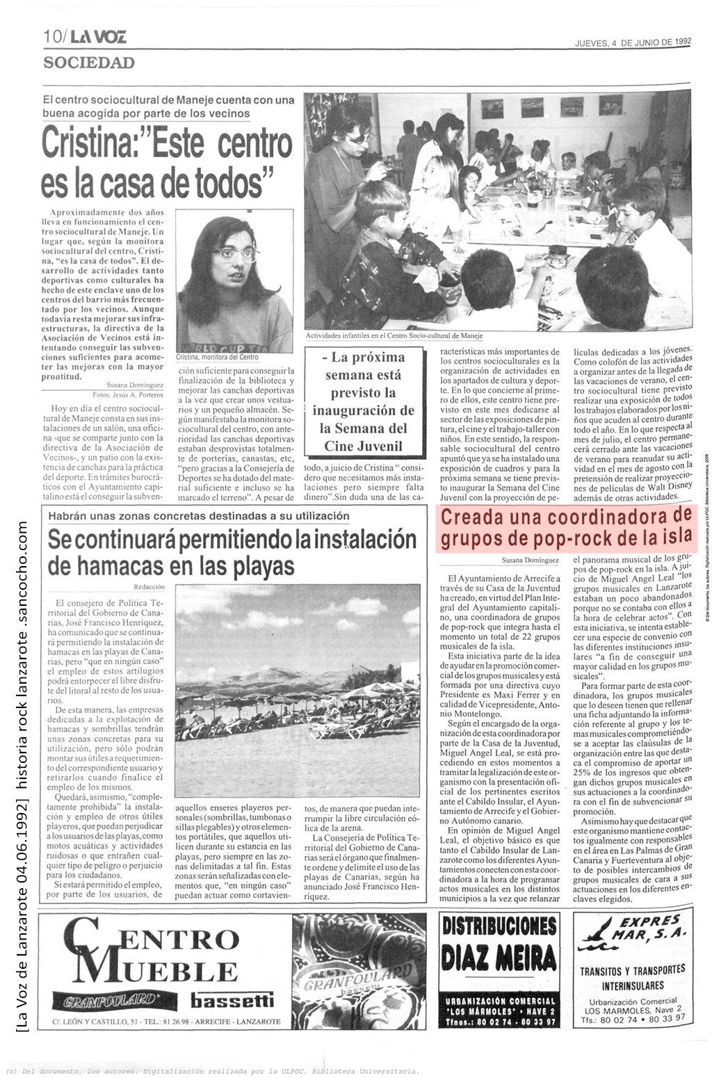 La-Voz-de-Lanzarote-04061992-Coordinadora-grupos-Rock