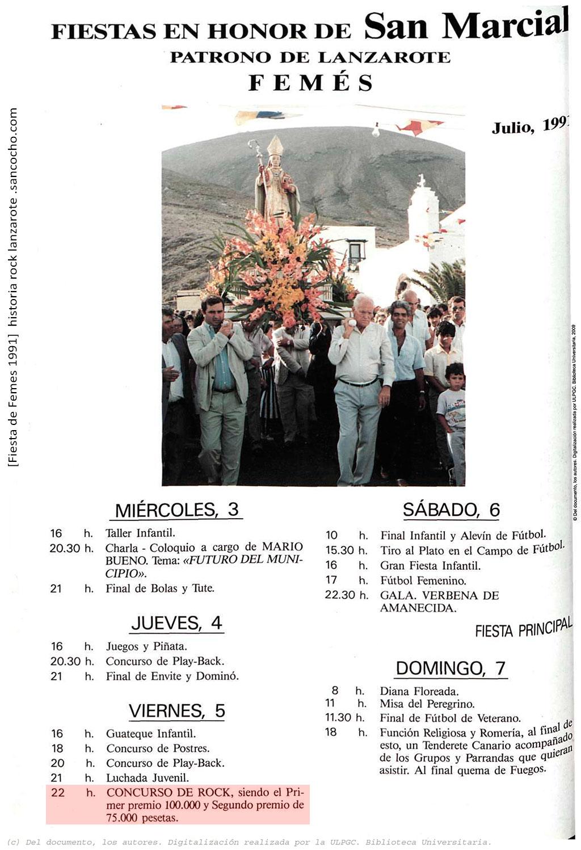 La Voz de Lanzarote 05.070.1991