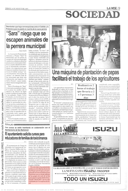 La-Voz-de-Lanzarote-08081992-Tinajo
