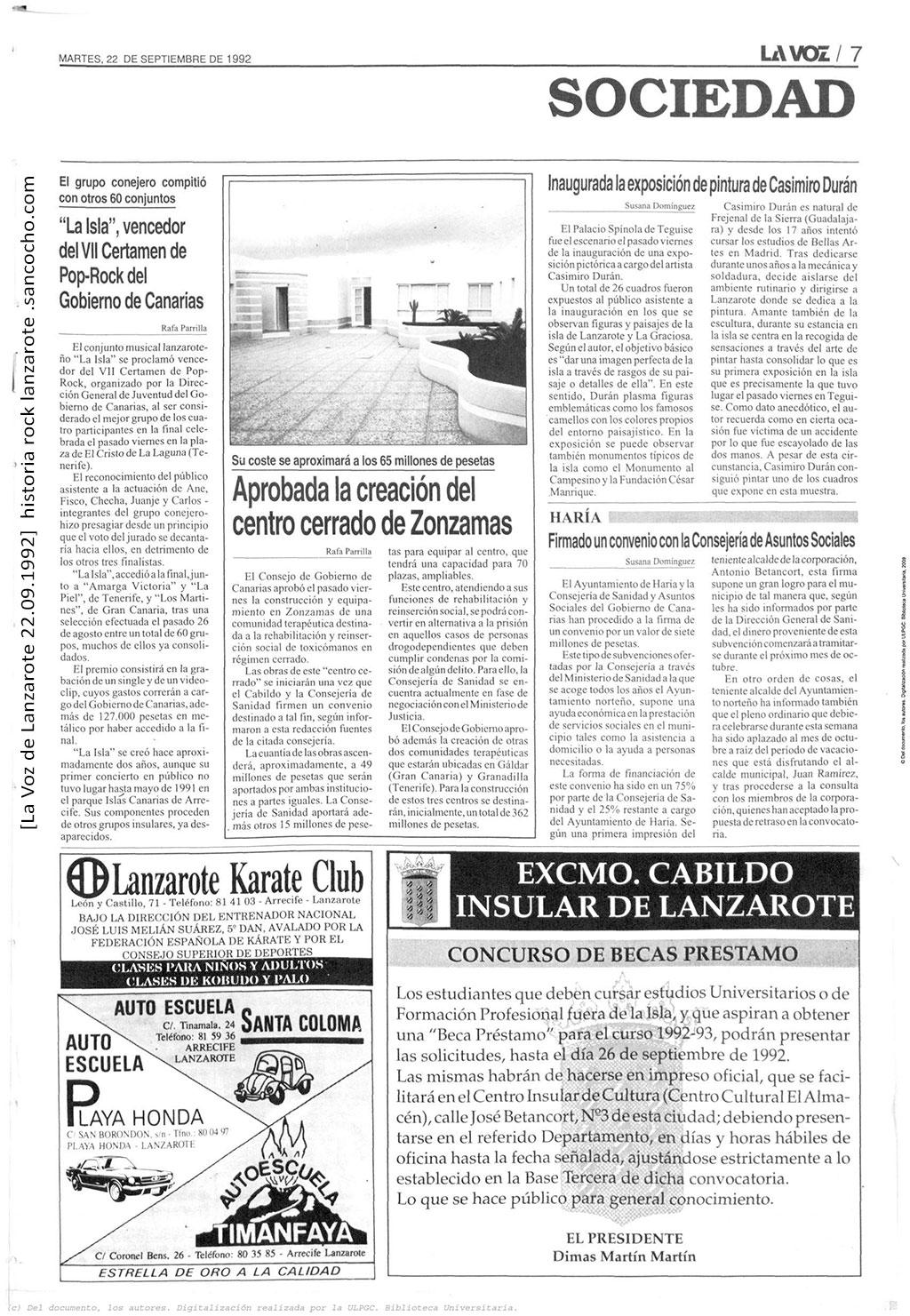 La-Voz-de-Lanzarote-22091992-La-Isla